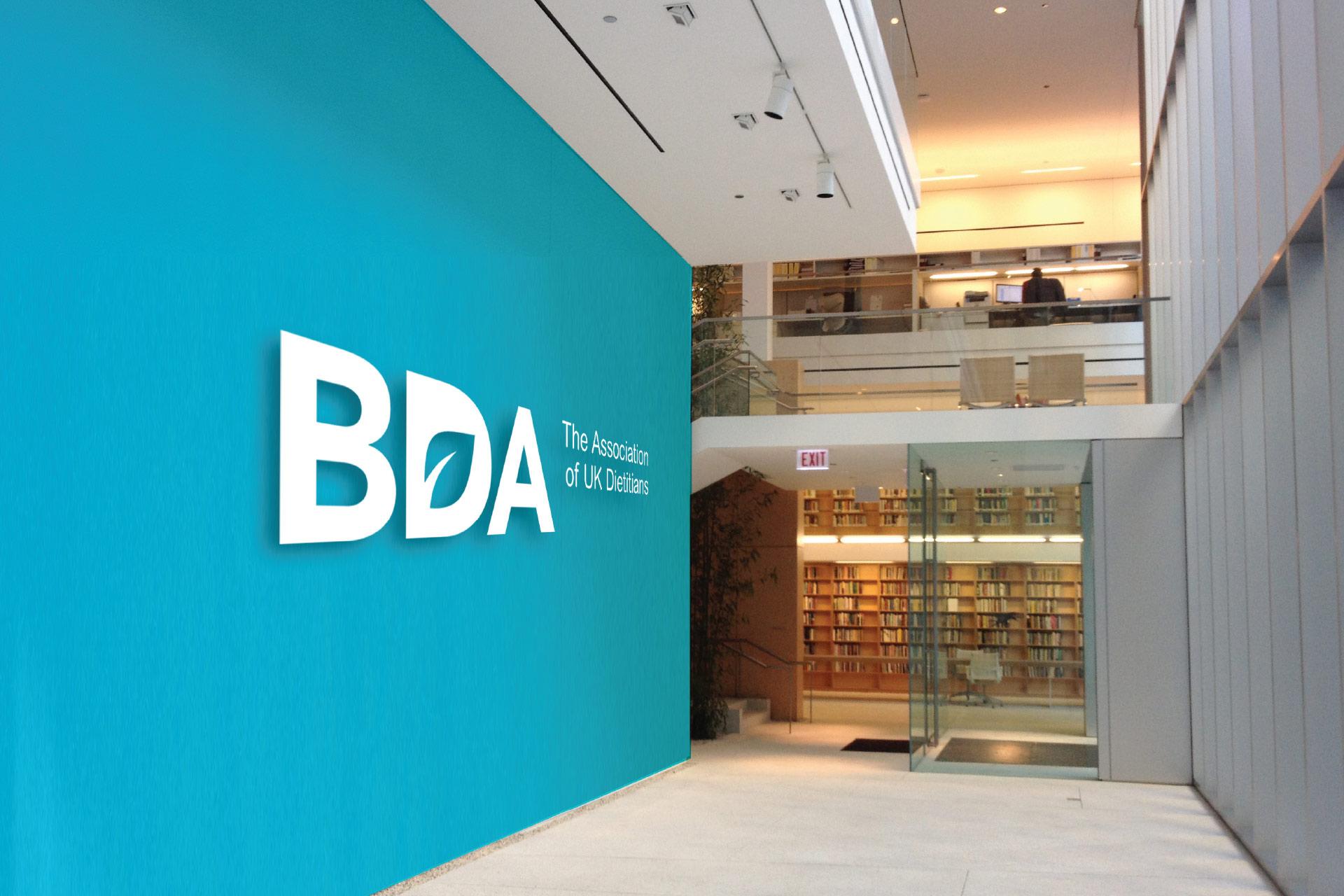 British Dietetic Association Identity Design By Antony